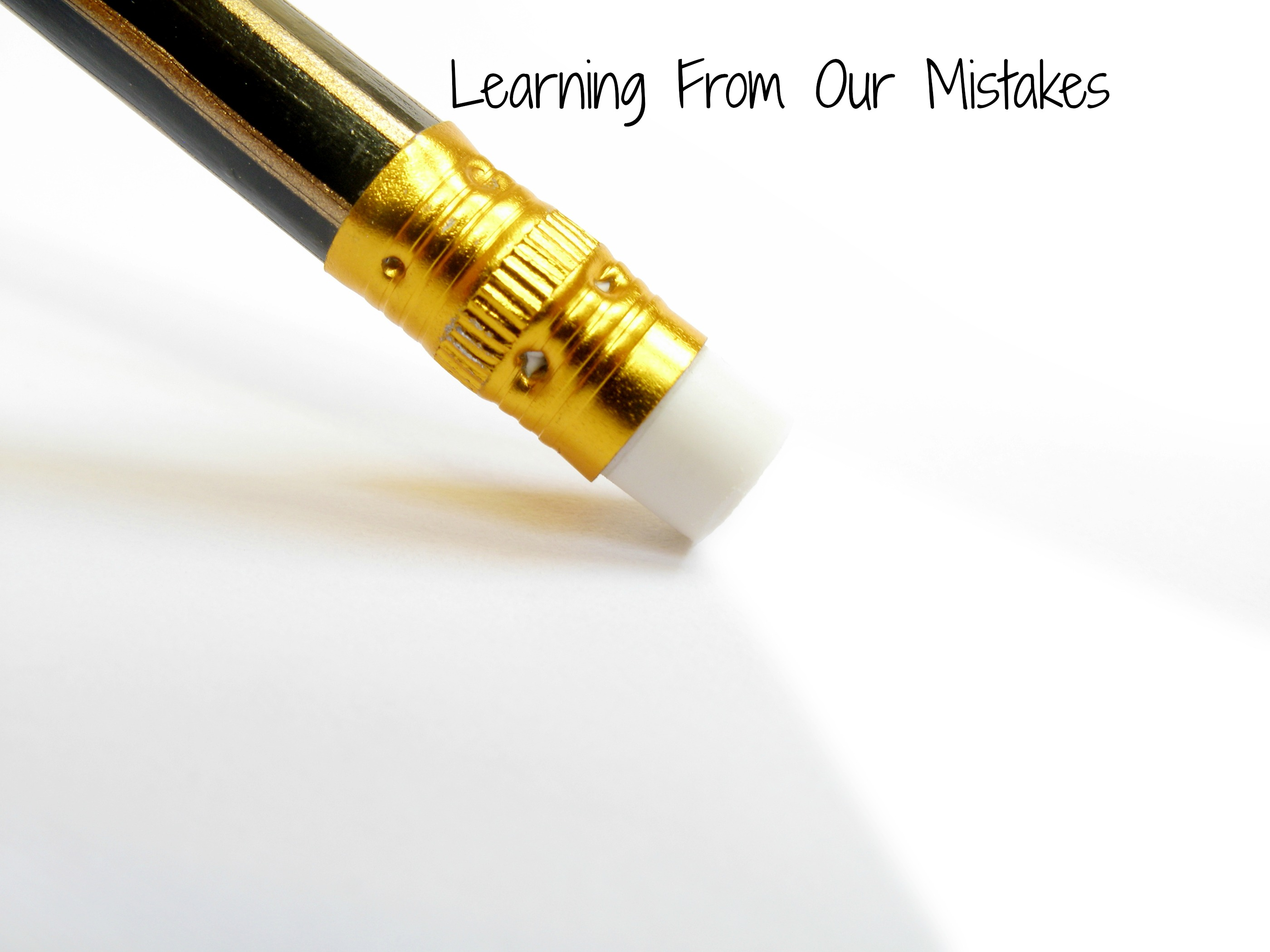 learning from mistakes for personal growth