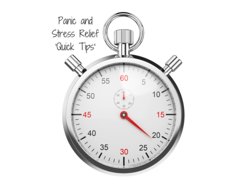Panic and Stress Relief 'Quick Tips'