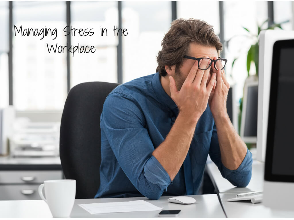 stressed business person